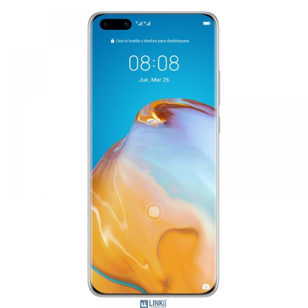 """HUAWEI P40 PRO 6,58"""" FHD+ 256GB/8GB 50MPX/32MPX DS SILVER FROST"""