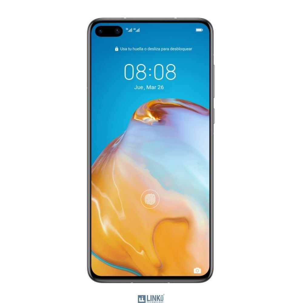 """HUAWEI P40 6,10"""" FHD+ 128GB/8GB 50MPX/32MPX DS SILVER FROST"""