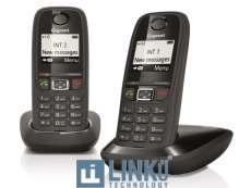 GIGASET TELEFONO DECT GIGASET AS405 NEGRO