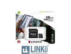 KINGSTON MICROSD 16 GB CL10 SDCS2/16GB 1A