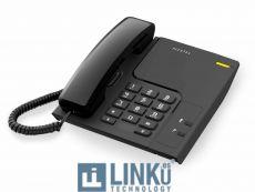 ALCATEL TELEFONO FIJO COMPACTO T26 NEGRO
