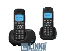 ALCATEL TELEFONO DEC XL535 DUO NEGRO