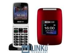 """MAXCOM MM824 2,4"""" 2MPX 2G BLACK RED"""