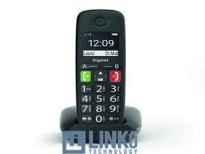 GIGASET TELEFONO DECT E290 TECLAS GRANDES BLACK